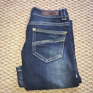 Rock n roll boot cut jeans